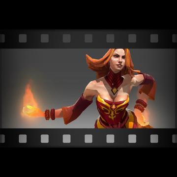 Купить Dota 2 - Насмешка Get Burned [Lina].