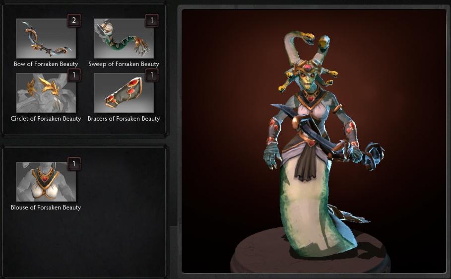 Купить Dota 2 - Forskanen Beauty [Medusa].