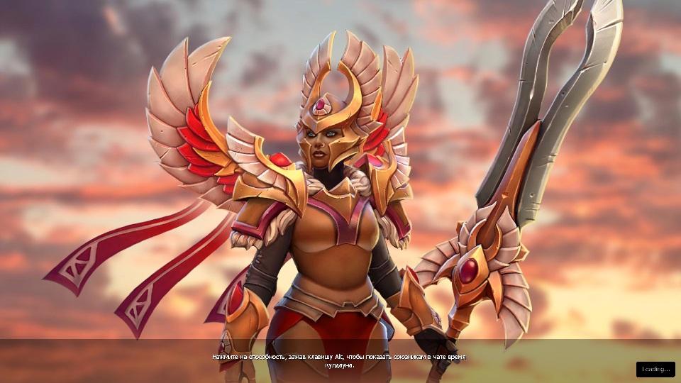 Купить Dota 2 - Загрузочный экран: Flight of the Valkyrie