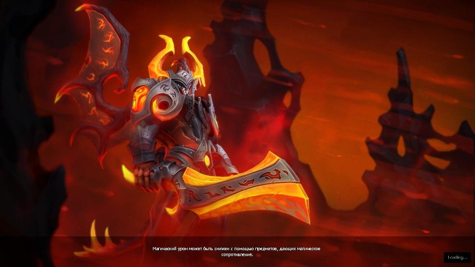 Купить Dota 2 - Загрузочный экран: Eternal Fire