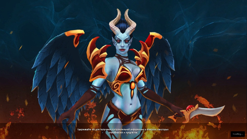 Купить Dota 2 - Загрузочный экран: Dark Angel