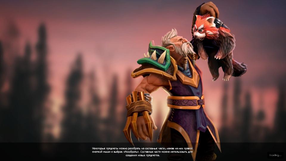 Купить Dota 2 - Загрузочный экран: The Wolf Hunter Spirit Bear