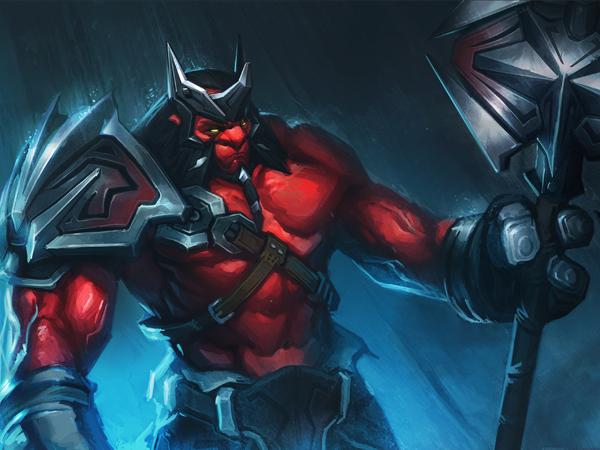 Купить Dota 2 - The Red Conqueror [Axe]