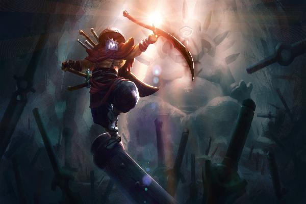 Купить Dota 2 - Balance of the Bladekeeper [Juggernaut]