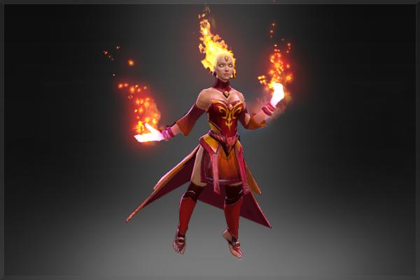 Купить Dota 2 - Fiery Soul of the Slayer (Аркана) [Lina]