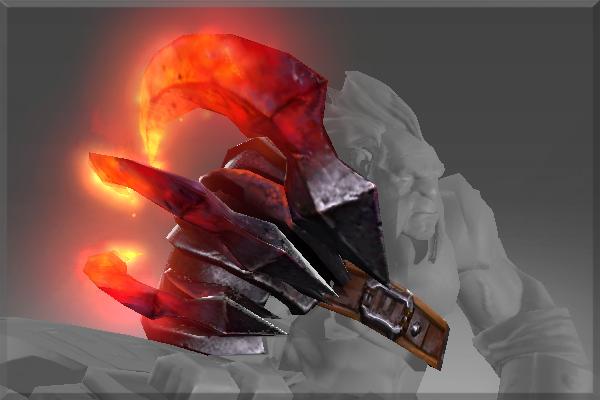 Купить Dota 2 - Molten Claw (броня) [Axe]