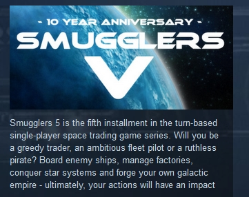Smugglers V 5 ( Steam Key / Region Free )