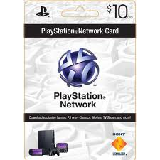 Playstation Network PSN $ 10 (USA) + Discou