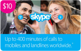 Skype 10 USD Ориг. Ваучер - Актив.на Skype.com