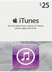 Apple iTunes 25 CAD GIFT CARD PREPAID CA Scan gift card