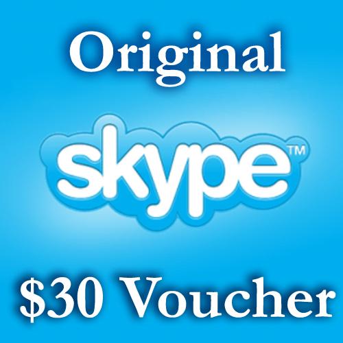 Skype.com 30 usd ОРИГИНАЛЬНЫЕ СКАЙП ваучеры тут 30=25+5