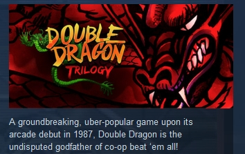 Double Dragon Trilogy (Steam Key region free)