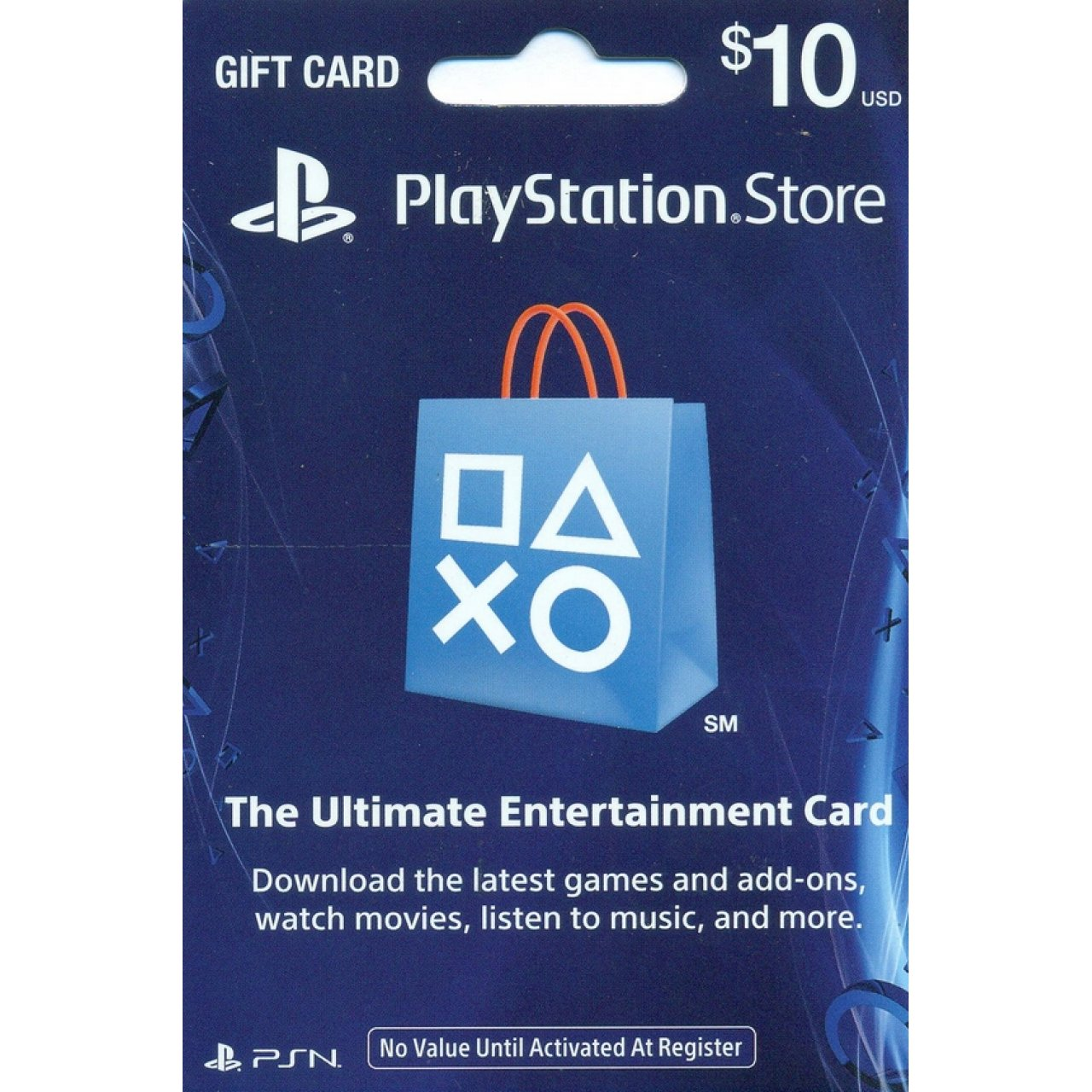 PLAYSTATION NETWORK (PSN) - 10$ (USA/SCAN)