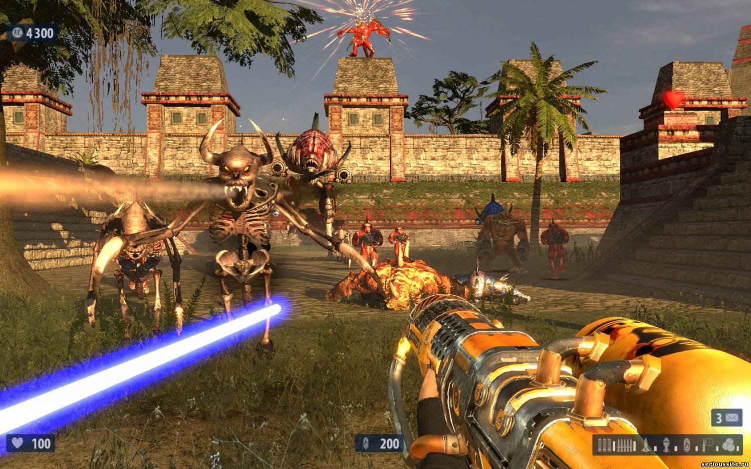 Serious Sam HD: The Second Encounter (Steam) RegionFree