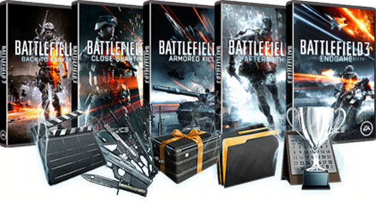 BATTLEFIELD 3 PREMIUM (EU ORIGIN KEY) REGION FREE