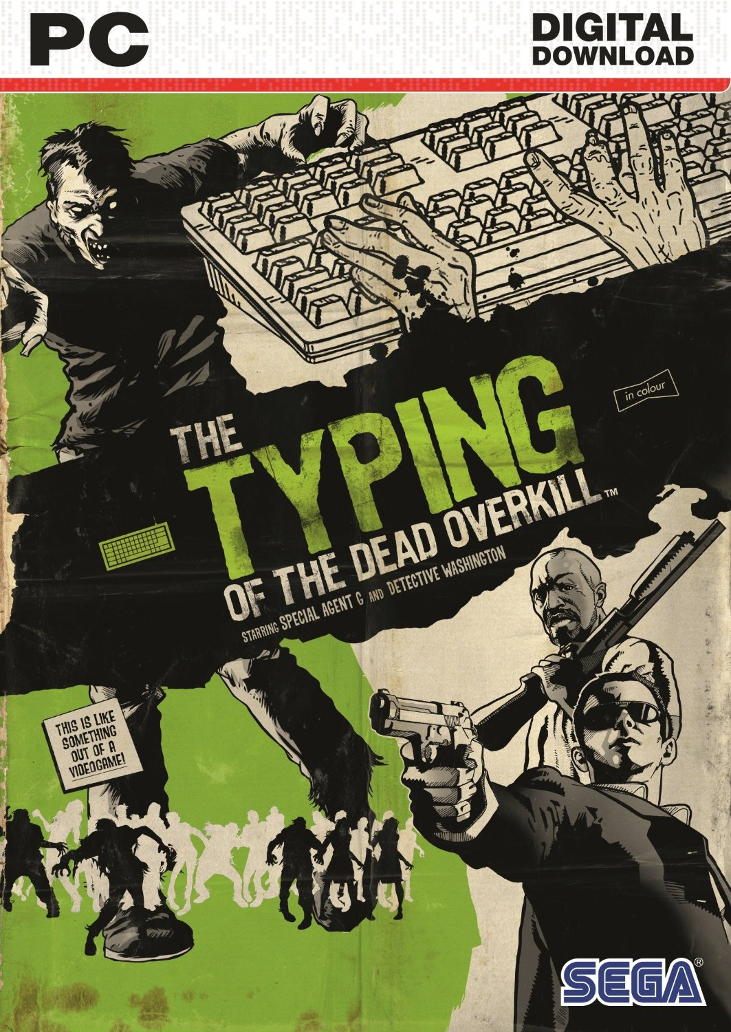 The Typing of the Dead Overkill (Steam Key) Region Free