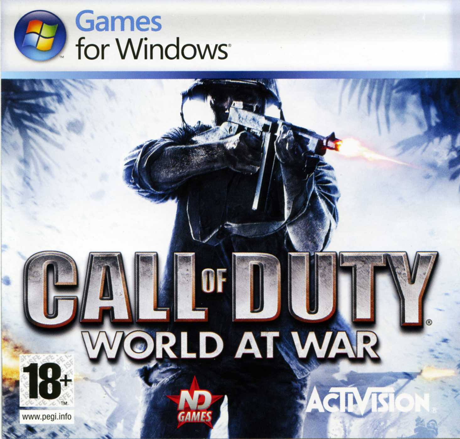 Call of Duty 5: World at War Region Free