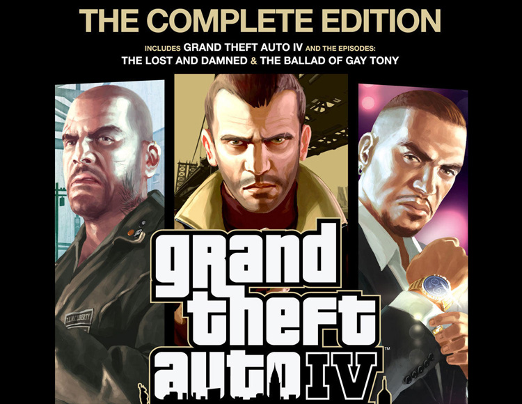 Grand Theft Auto IV : The Complete Edition (Steam)