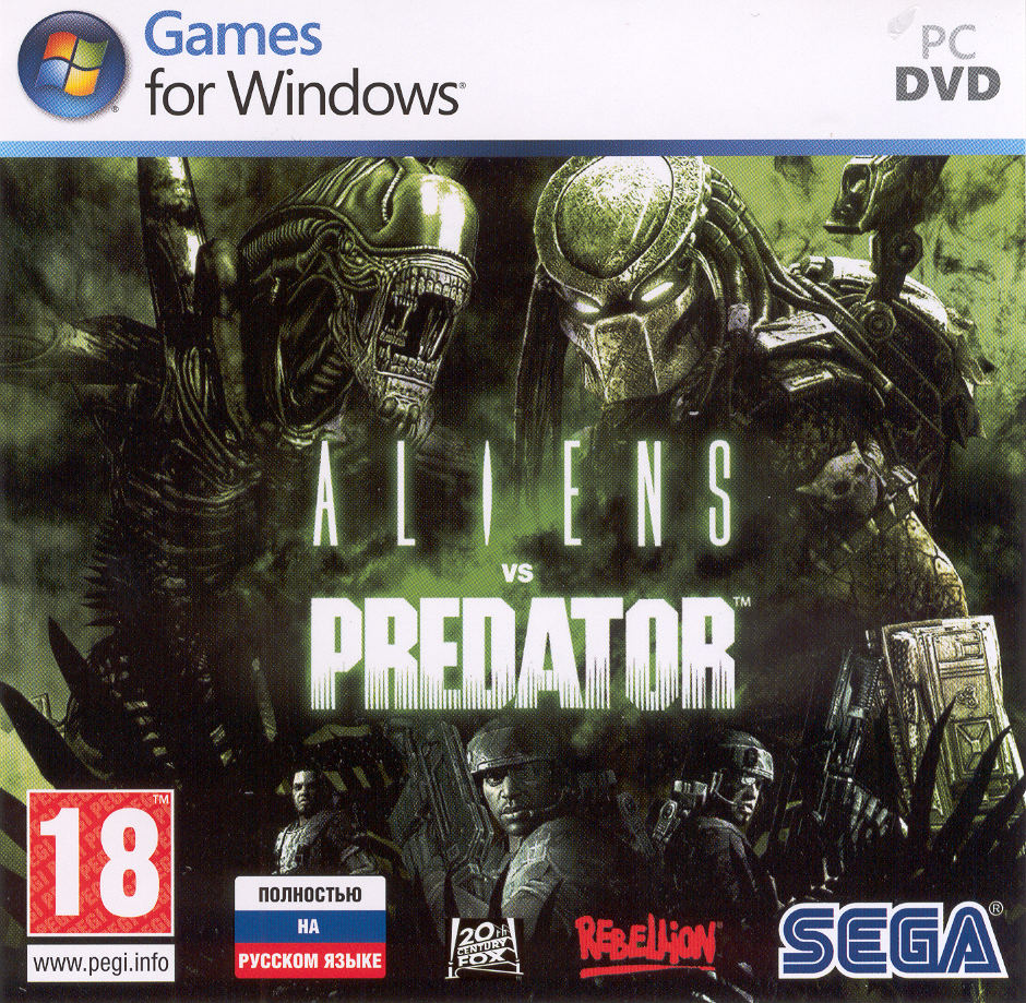 Скачать бесплатно Aliens vs. Predator + DLC's (2010/RUS) Steam-Rip от