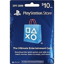 Playstation Network Card PSN for PS4 PS3 PSP 10$ (USA)
