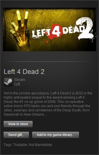 Left 4 Dead 2 (Steam Gift / Region Free)