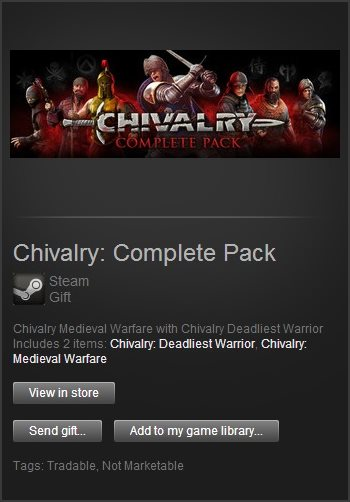 Chivalry: Complete Pack (Steam Gift / Region Free)