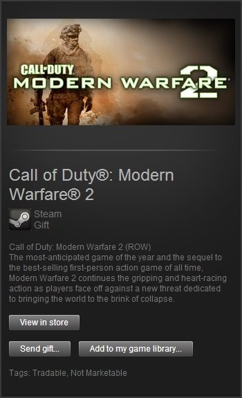 Call of Duty Modern Warfare 2 (Steam Gift /Region Free)