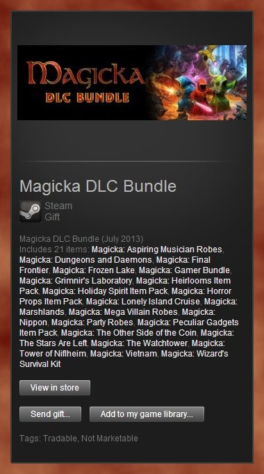 Magicka DLC Bundle (Steam Gift / Region Free)