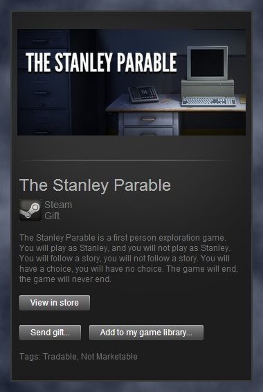 The Stanley Parable (Steam Gift / Region Free)
