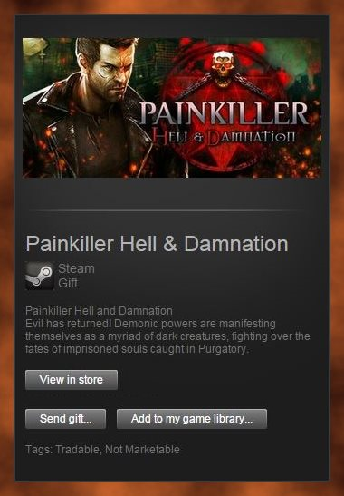 Painkiller Hell and Damnation (Steam Gift /Region Free)