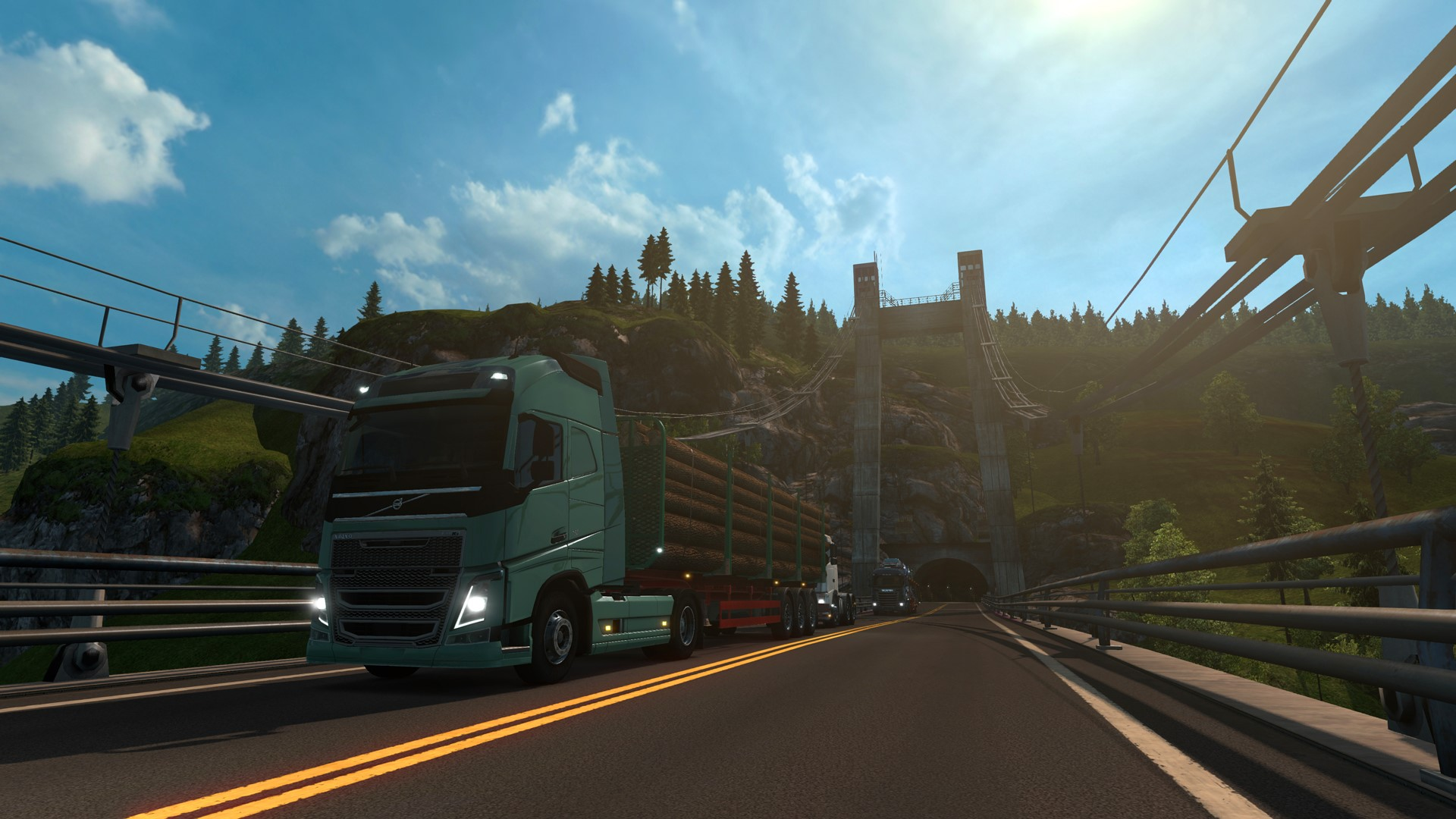 Euro Truck Simulator 2 - East +Scandinavia +7 DLC STEAM