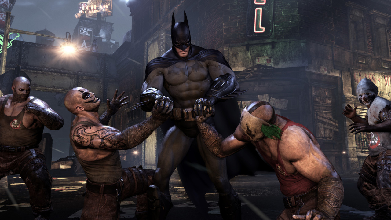Batman: Arkham City GOTY (Steam Gift ROW / Region Free)