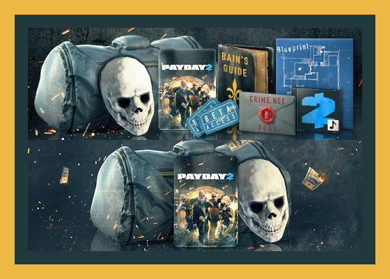 PAYDAY 2 Career Criminal Edition + DLC (Steam аккаунт)