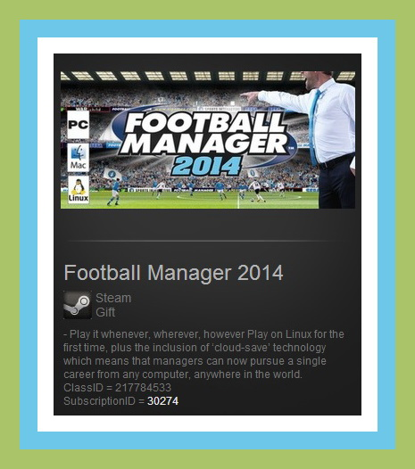 Football Manager 2014 (Steam Gift ROW / Region Free)
