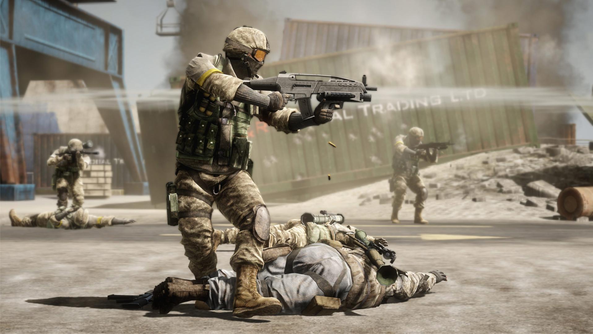Game movies: battlefield: bad company 2 vietnam video interview.