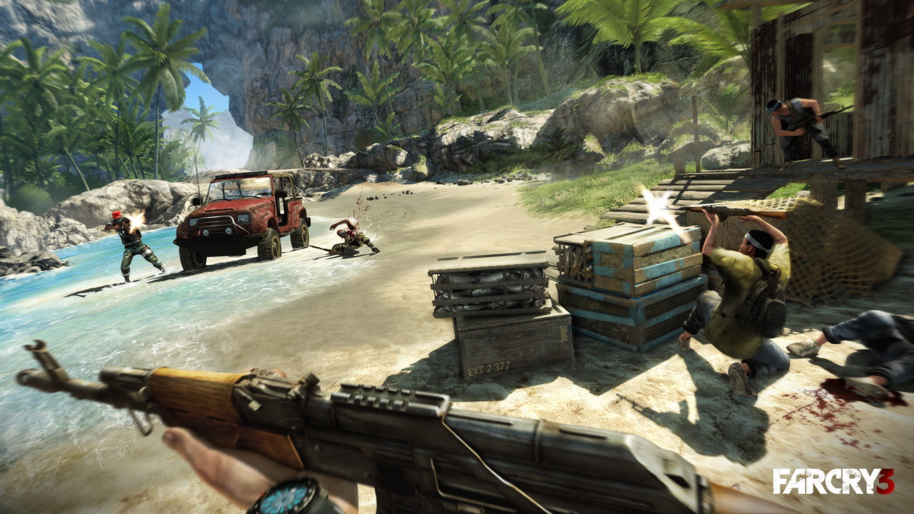 Far Cry 3 - Deluxe (STEAM GIFT ROW / Region Free)