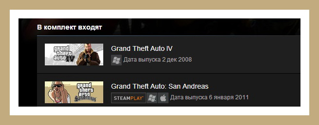 Grand Theft Auto IV + GTA: San Andreas (Steam Gift RU)