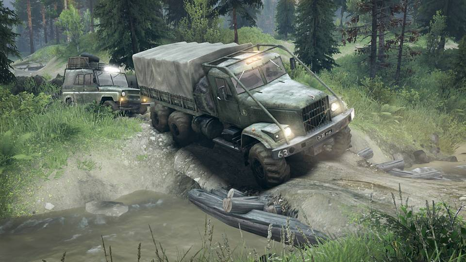 SPINTIRES (Steam GIFT ROW / Region Free)