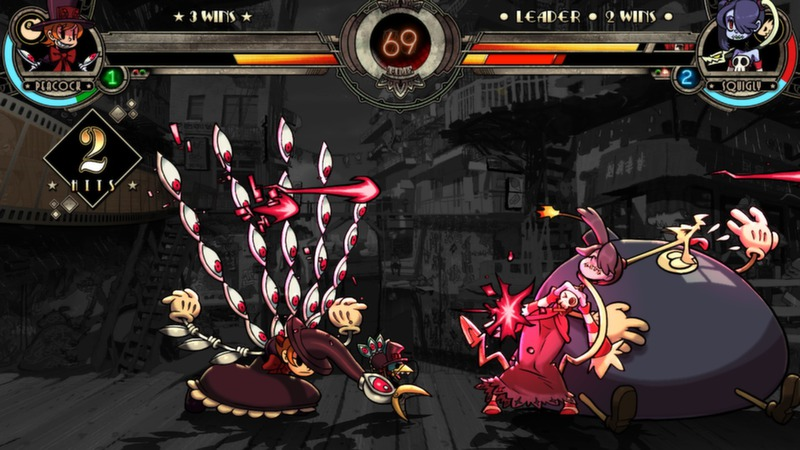 Skullgirls (Steam gift, region free)