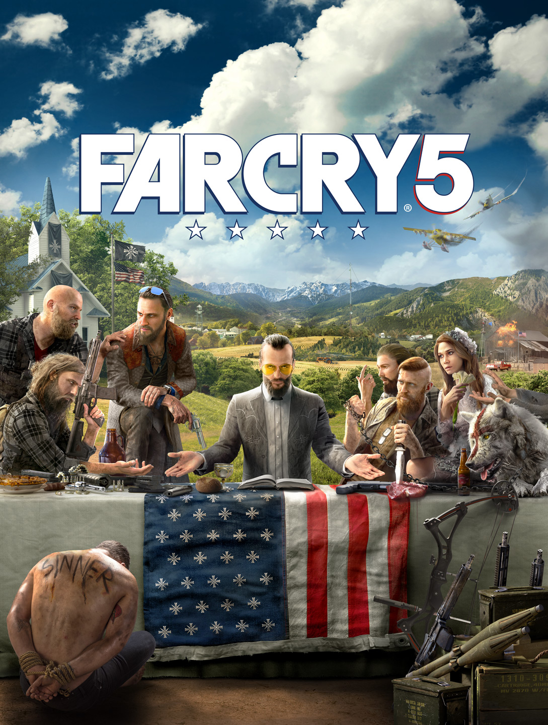 Far Cry 5: Gold Edition  (Uplay KEY)   RU/CIS