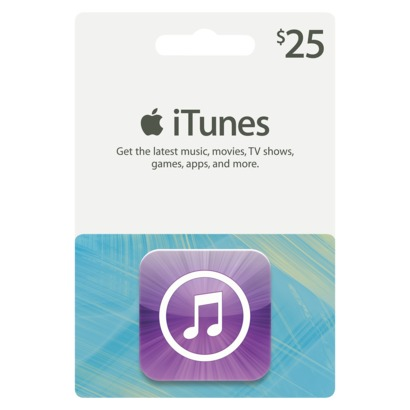 iTunes Gift Card $25 (USA) + DISCOUNTS