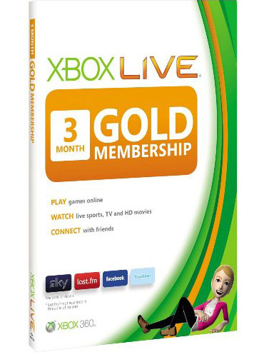 Xbox live! GOLD  -  3 месяца - 3-Month ( USA only - US)