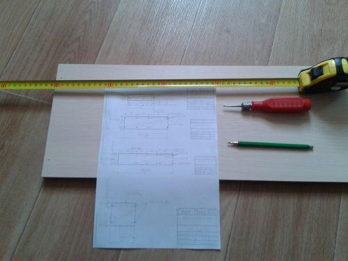 Cтол-книга - комплект чертежей для изготовления