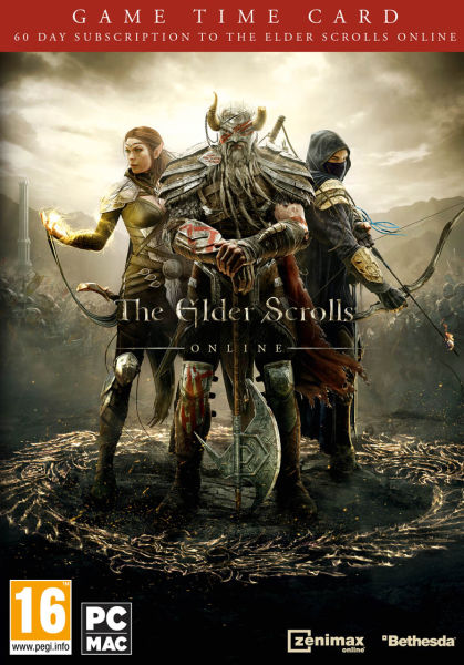 The Elder Scrolls Online 60 days card EU/Region Free