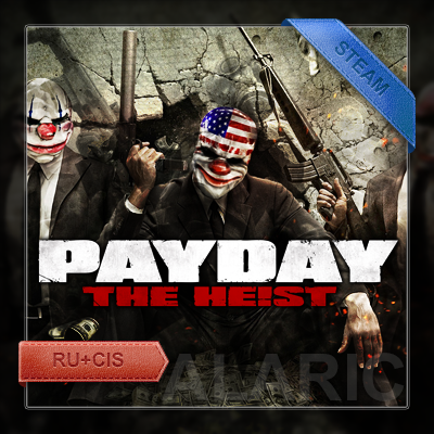 PAYDAY The Heist [Steam Gift] (RU+CIS)