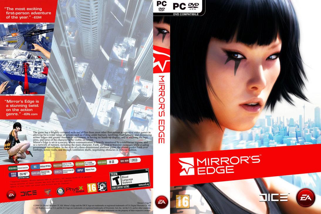 Mirror´s Edge (Steam) Region Free + СКИДКИ