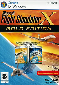 Microsoft Flight Simulator X . Gold Edition (Русский)