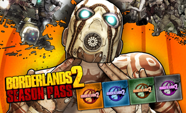 Borderlands 2 - Season Pass (Steam, дополнения)