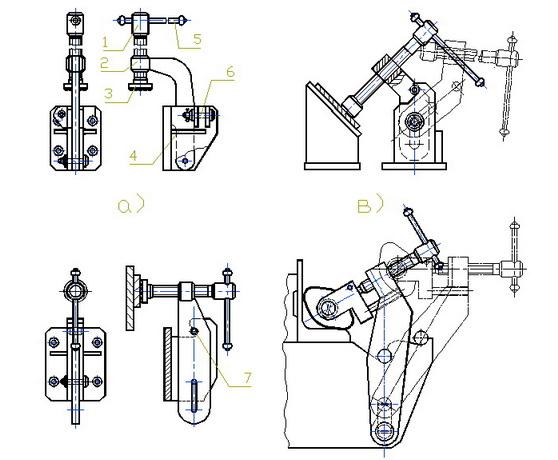 Прижимы для станков своими руками чертежи 6