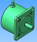 Шаговый двигатель от матричного принтера